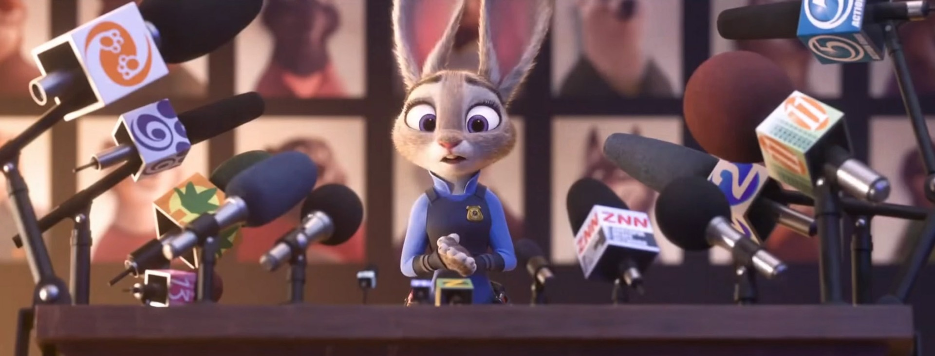 Zootopia - Hopps News Conference